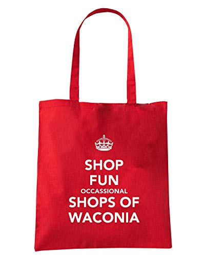 Rossa SHOP OF TKC3995 Borsa OCCASIONAL SHOPS WACONIA Shirt Shopper Speed FUN qcygt1A