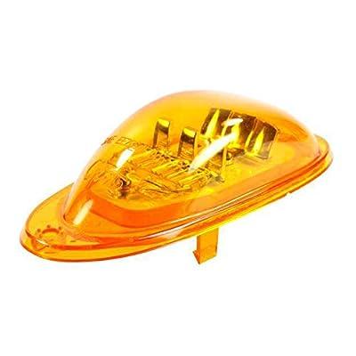 Grote 54223 SuperNova Oval LED Side Turn Marker Lights (Surface Mount, Male-Pin): Automotive