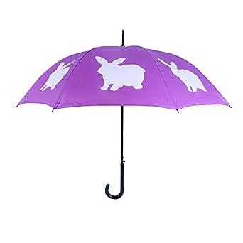 San Francisco Umbrella Co, Purple/White Rabbit Umbrella
