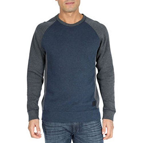 DKNY Jeans Men's Sweater Color Block Pullover-Classic Navy, - Sweaters Men Dkny
