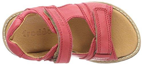 Froddo Children Sandal G3150104-6, Sandalias Unisex Niños Rot (Red)