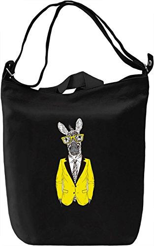 Horse Borsa Giornaliera Canvas Canvas Day Bag  100% Premium Cotton Canvas  DTG Printing 