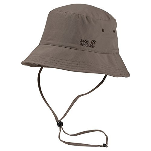 ジャックWolfskin Supplex Sun Hat – Siltstone、Large by Jack Wolfskin   B01LE38N5A