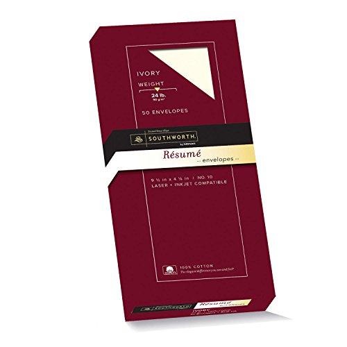 Southworth Exceptional Resume Envelopes R14I 10L product image