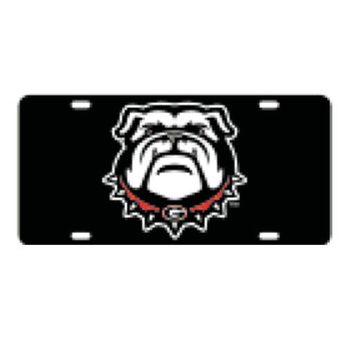 Georgia Bulldogs Logo Plate (Georgia Bulldogs New Logo Car)