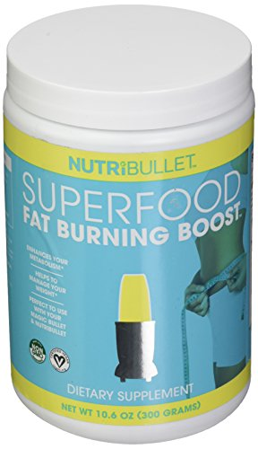 NutriBullet NBR-5572PK6 SuperFood Fat Burning Boost (300g), 300 g, Brown