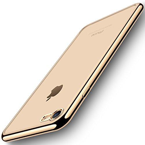 Iphone 7 Case  Ranvoo Ultra Thin Protective Flexible Case For Apple Iphone 7 4 7 Inch  Premium Soft Tpu Bumper Case  Slim Cushion  Gold
