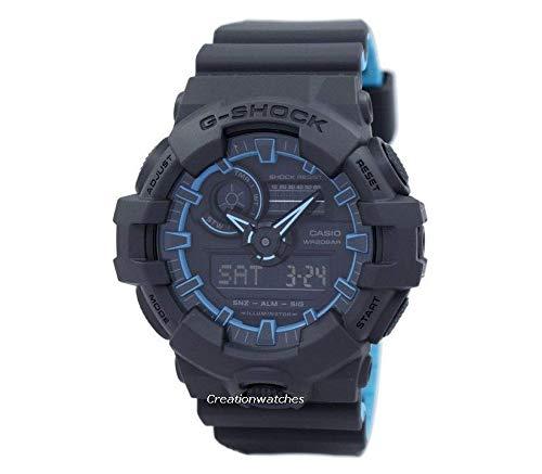 Casio G-Shock Mens Sports Watch (Navy Blue / Light - X G Watch Shock Large Casio