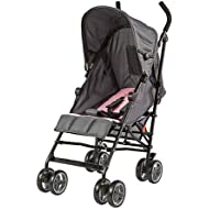 Dream On Me Cloud Lightweight Stroller, Pink Gray