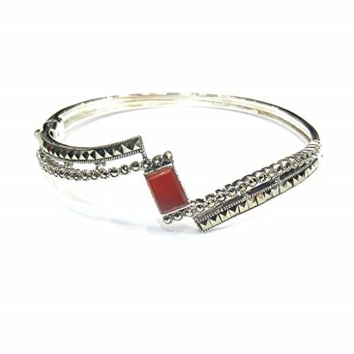 Jewelshingar Jewellery Free Size Bracelet For Girls ( 15283-ssbl-brown ) by Jewelshingar