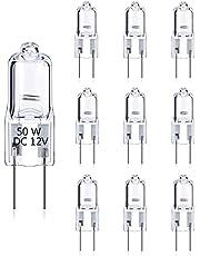 DoRight GY6.35/G6.35 50 W dimbaar warmwit 2700 K bi-pin helder, capsulelamp voor kroonluchters, bureaulamp, hanglampen, wandlamp, verlichting