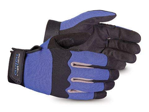 Superior Winter Work Gloves with Fleece Lining - Water Repellant Work Gloves for Cold Weather Conditions (MXBUFL) - Size Large (Best Winter Work Gear)