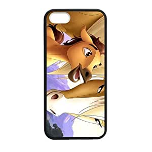 Spirit Stallion of the Cimarron Cell Phone Protector for iPhone 5S Plastic and TPU (Laser Technology)