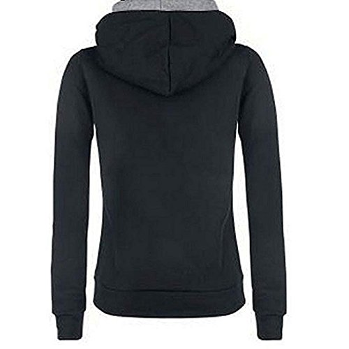 Shilanmei Women Spring Warm Cotton Long Sleeve Coat Top Tees Batman Hoodies Sweatshirts