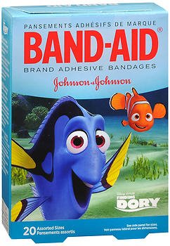 Band Aid Childrens Adhesive Bandages (Band-Aid Children's Adhesive Bandages,Disney's Finding Dory, Assorted Sizes)