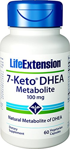 Life Extension 7-Keto DHEA Metabolite 100 mg, 60 Vegetarian Capsules