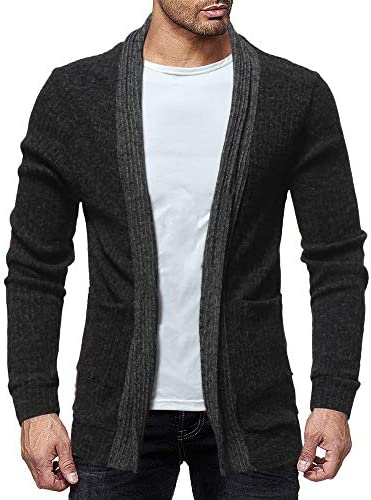 Mens Cardigan Sweaters Big and Tall Stripe Solid Sport Coat Lightweight Casual Loose Fit Jacket Coat Business Lapel Suit / Mens Cardigan Sweaters Big and Tall Stripe Solid Sport Coat Lightweight Casual Loose Fit Jacket Coat Busines...