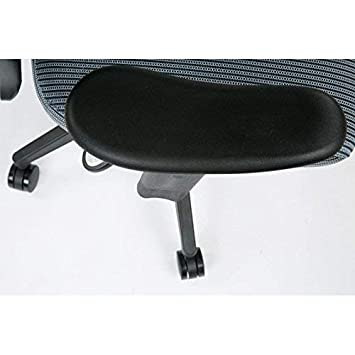 2-to-1 Synchro Tilt Control and 2-Way Adjustable Arms Managers Chair Charcoal SPACE Seating Deluxe Vera Flex Fabric Seat and Back
