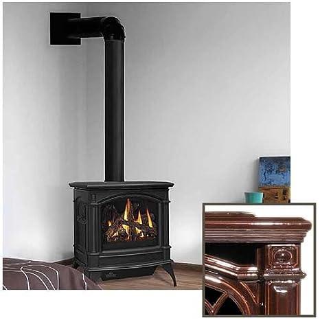 Amazon.com: ventilación directa estufa de hierro fundido ...