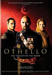 review of movie version of othello Rylance has bonded with steven spielberg and forged an oscar-winning movie career  in this multicultural version of the play, it's not othello's race but the fact that andre holland is .