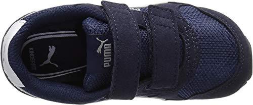 PUMA Baby ST Runner NL Velcro Kids Sneaker, Peacoat White, 9 M US Toddler