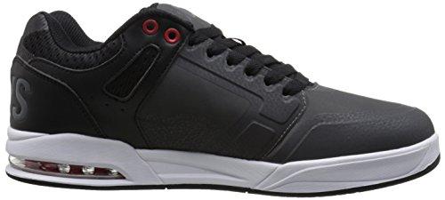 X Grey Nubuck Enduro Scarpe Shoes Dvs Uomo red Basse black Efq1P