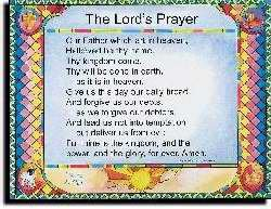 Chart - Lords Prayer (Debts) Wall (Laminated) (Debt Chart compare prices)