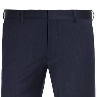 20848, Modell: 61522 Herren Baukasten Hose in Schwarz oder Dunkelblau Super Slim Fit Benvenuto Purple lago Club