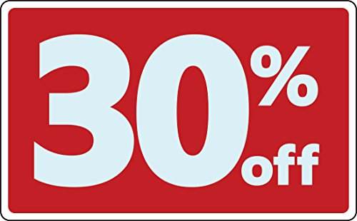 Cheap Sale 30% Percent off Business Sign Retail Store Discount Promotion supplier