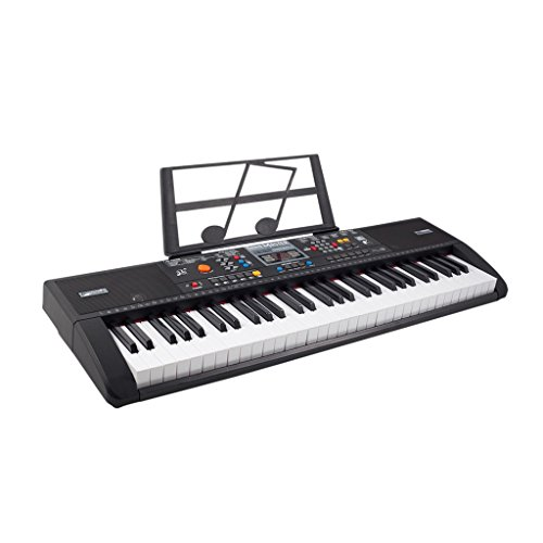 2a7e9745b83 Plixio 61 Key Electronic Music Keyboard Electric Piano with USB ...