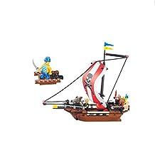 Sluban Warriors Pirate Ship 226 Pieces Building Blocks Lego Compatible