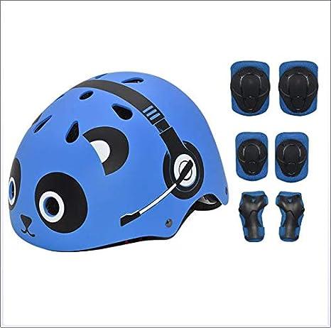 Casco para niños, juego de casco pequeños Casco para bicicleta y ...
