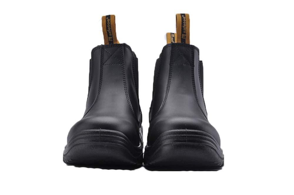 Ywqwdae Sicherheits-Schuhe der der der Männer große Anti-statische Durchstoß-Besteändige Breathable Schuhe (Farbe   Schwarz Größe   EU 41) e49f99
