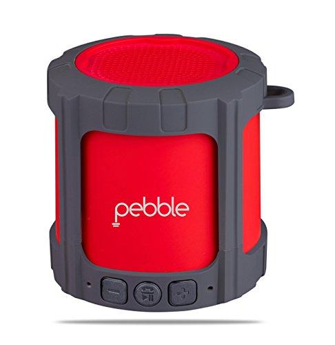 Pebble Blast Powerful Bluetooth Speaker   Red
