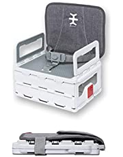 Nikidom Flat-Pack Foldable Booster Seat - Heather Grey