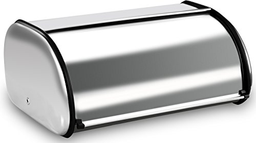 Bread Storage Box - Stainless Steel Construct...