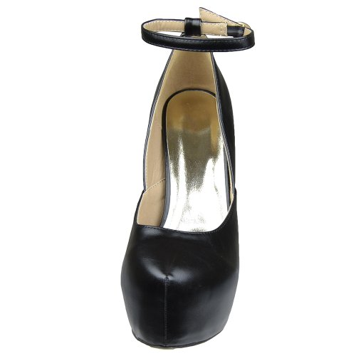 Scarpe Piattaforma Donna Sexy Scoop Vamp Scarpe Con Tacco Alto Nero Nero