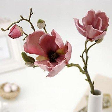 Fmyxz Silk Magnolia Tree Artificial Flowers Pink Amazoncouk