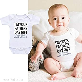 Onesies Baby boy Funny Troent Newborn Infant Baby Girl Boy Bodysuit Letter Printing Straps Letter Romper Outfits