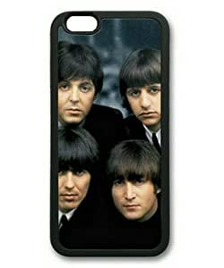 iPhone 6 Plus Case,Music Band The Beatles-2 TPU Rubber Shell Black Cover Case for iPhone 6 Plus(5.5Inch) by ruishername