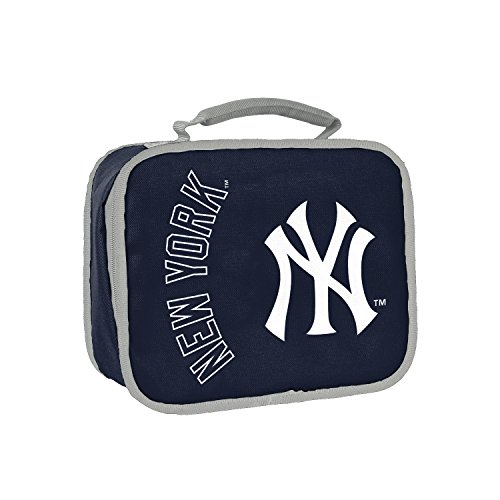 (Officially Licensed MLB New York Yankees Sacked Lunchbox, 10.5-Inch, Navy)