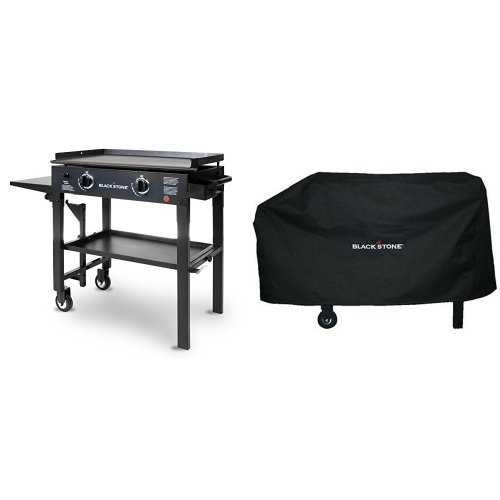 Blackstone 28 inch Outdoor Flat Top Gas Grill Griddle Sta...