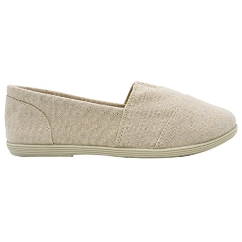 Soda Women Object Flats-Shoes Neue Beige