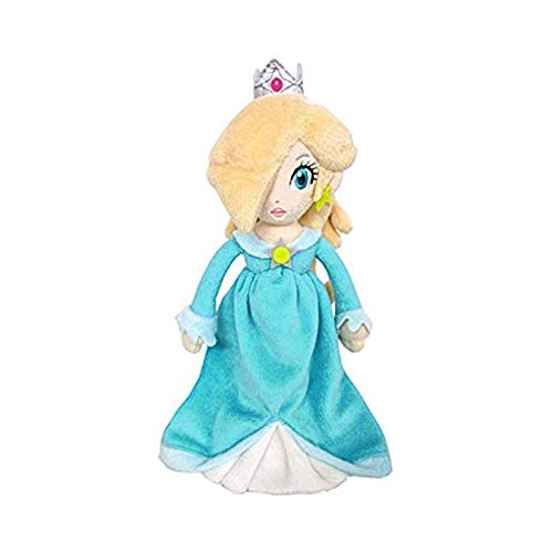 Sanei Super Mario Bros Princess Rosalina 7.5 Inch Anime Stuffed Plush Kids Toys -