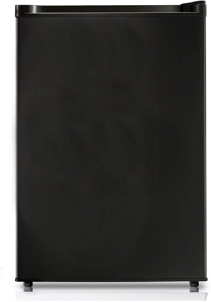 4.4 Cubic Feet Black Renewed Midea WHS-160RB1 Single Reversible Compact Refrigerator