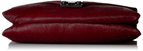 Lock Maroon Evening Bag Haircalf RANDALL LOEFFLER zOnq55