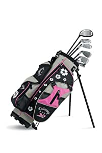 callaway xj junior 6 piece girl 39 s golf club. Black Bedroom Furniture Sets. Home Design Ideas