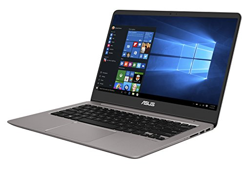Asus Zenbook UX3410UQ-GV133T 35,5 cm (14 Zoll mattes FHD) Notebook (Intel Core i5-7200U, 8GB RAM, 512GB SSD, NVIDIA GeForce 940MX, Win 10 Home) grau