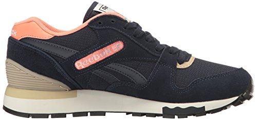 Reebok Delle Donne Gl 6000 Fuori-colore Running Shoe Finto Indaco / Stellare Colore Rosa / Fiocchi Davena / Gesso / Nero