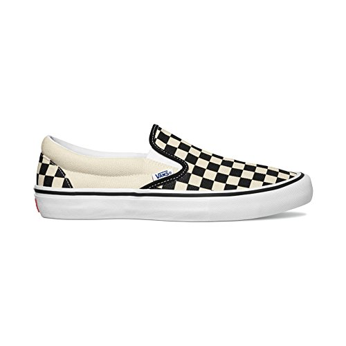 (Vans Slip-On Pro (Checkerboard) Black/White )